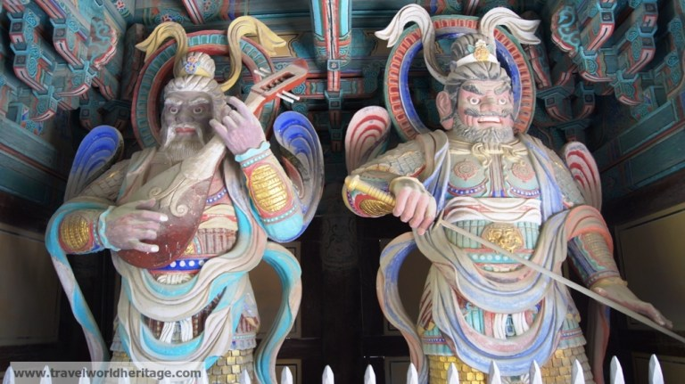 Four heavenly kings Bulguksa