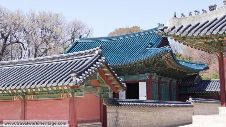 Changdeok Blue Tiles