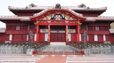 The Ryukyu castle in Okinawa.