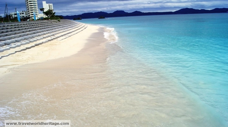 The waters of Okinawa, Japan are simply gorgeous.