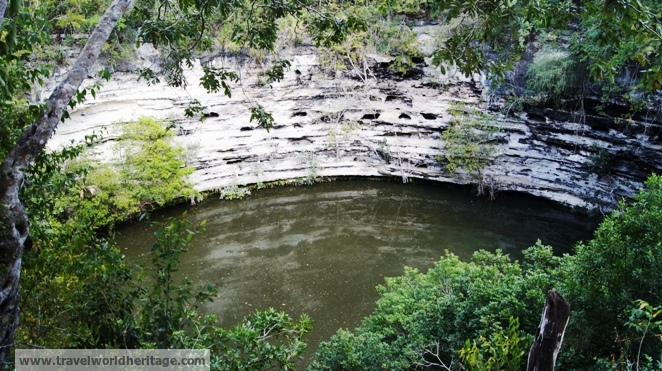 The Grand Cenote in Chichen Itza