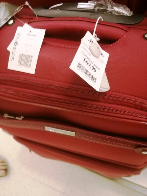 luggage - cost of NOT traveling