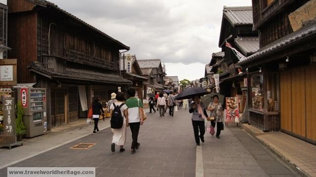 Market outside the Grand Shrine