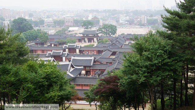 Palace within Hwaseong