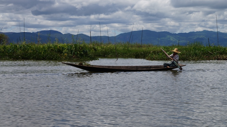 It might actually be warmer on Inle Lake than in your hotel.