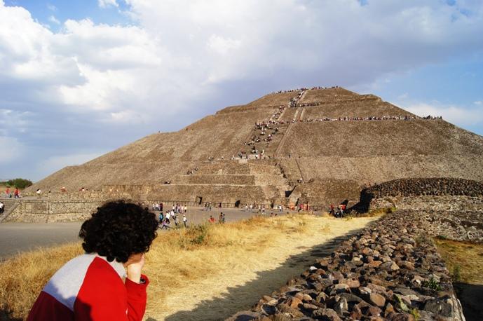 Teotihuacan Sun Pyramid