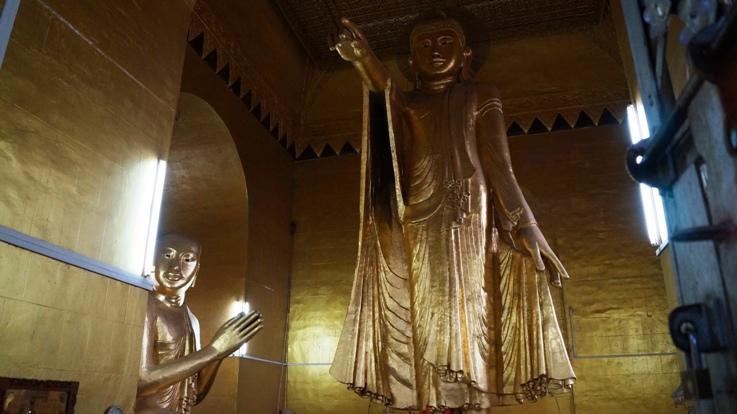 Pointing Buddha Mandalay