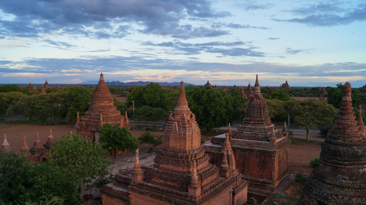 Bagan sunset 3