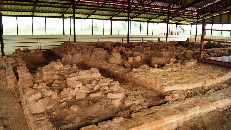 The cementary Sri Ksetra