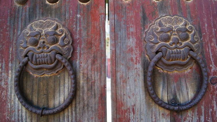 Bulguksa Temple Doors