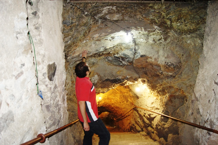 Going down to a silver mine