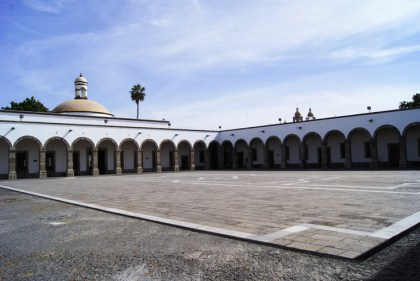 Patio Hospicio Cabanas