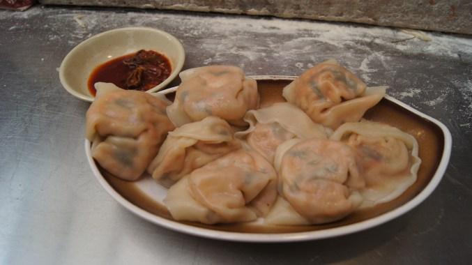 Korean Food - Kimchi Dumplings