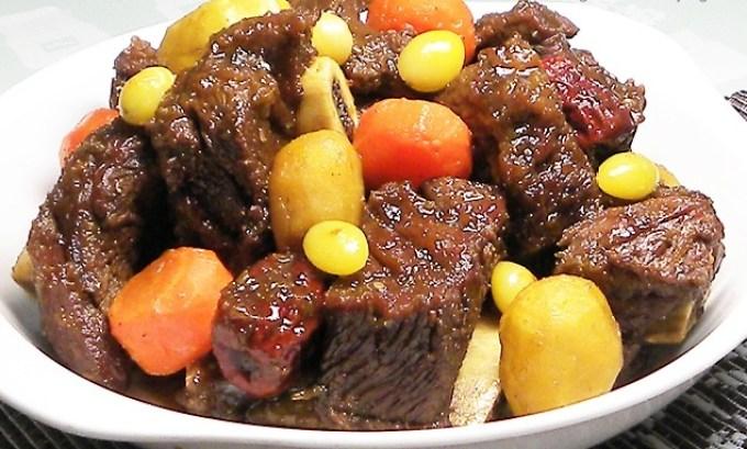 Korean Food - Galbi Jjim