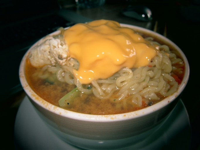 Korean Food - Cheese Ramen