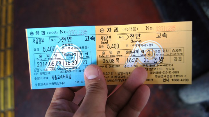 Bus Ticket in Advance