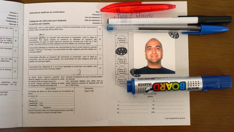 International Driving Permit IDP 4