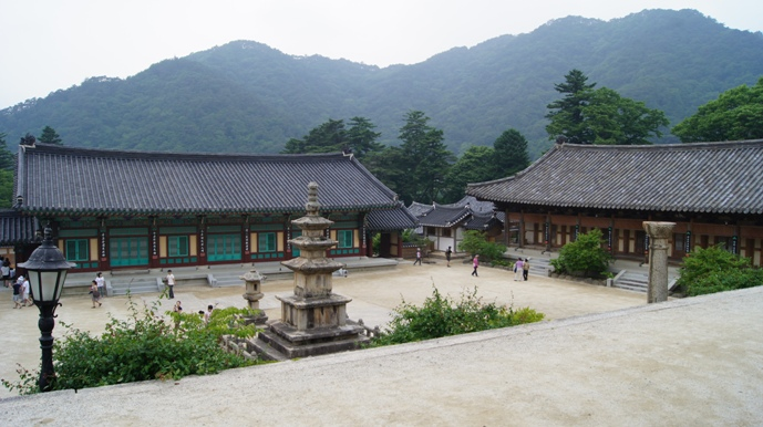 Haeinsa temple, located within Gayasan National Park, participates in the English Templestay program.