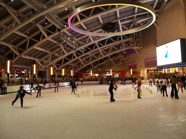 Shinsegye Department Store Skating Rink