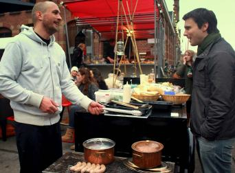 specialty goods at the festive Pure Market Amsterdam