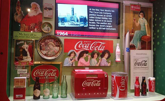 Biedenharn Museum Coca Cola memorabilia in Louisiana