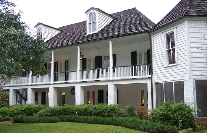 The Melrose Plantation in Louisiana