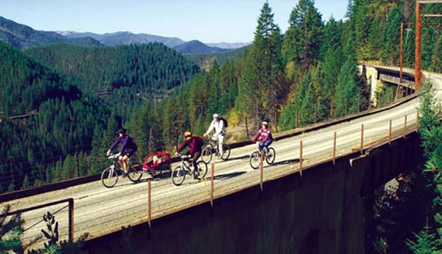 Trail of the Hiawathas in Northern Idaho