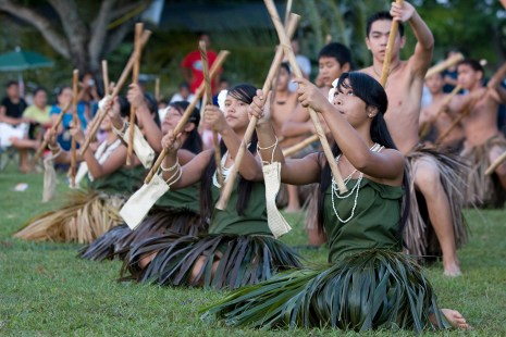 Cultural Performance of Chamorro Dancers