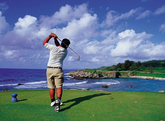 Take a swing at Guam's scenic view