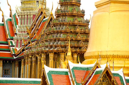 Architecture at the Grand Palace