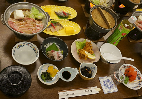 Japanese lunch, Shimabara Peninsula