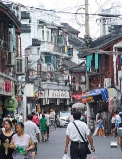 SE Asia-Shanghai narrow streets