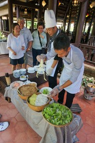 Serving lunch, DaNang