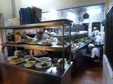 Koto restaurant kitchen