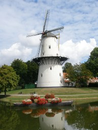 Picture perfect windmill. Photo Credit: Deborah Stone