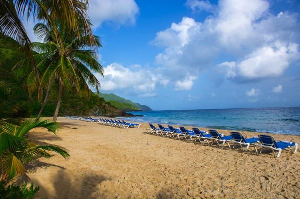 Renaissance Carambola's Beach. Photo Credit: Renaissance Carambola Beach Resort