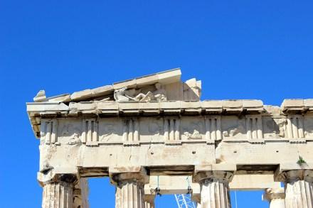 Detail on the Acropolis in Athens, Greence. Photo credit: Jim Richardson