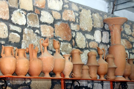 Pottery in Rhodes. Photo credit: Jim Richardson