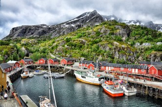 Lofoten Islands: Picturesque Nusfjord fishing village. Photo credit: Jennifer Crites