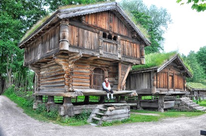 Historic building at Open Air Folk Museum, Oslo. Photo credit: Jennifer Crites