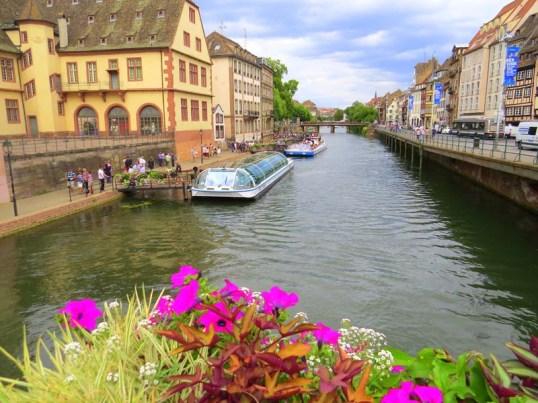 Strasbourg Canal. Photo credit: Nancy Schretter