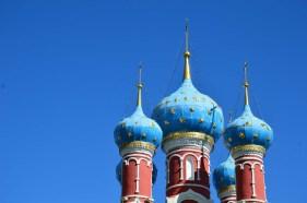 Onion domes of St. Demetrios on the Blood church. Photo credit: Kristin Winet