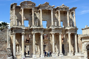 Library of Celsus in Ephesus, Turkey. Photo credit: Jim Richardson.