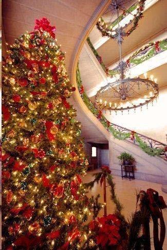 Inside the Biltmore Estates at Christmas. Photo Credit: RomanticAsheville.com Travel Guide
