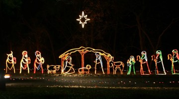 The reason for the Christmas season is celebrated in Branson. Photo Credit: Bobbie Green