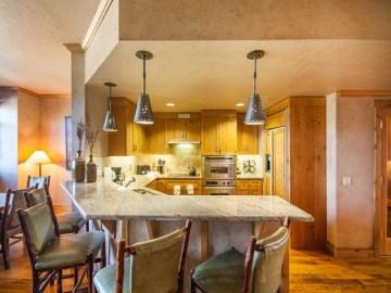 Grand Hotel Penthouse Kitchen. Photo Credit: Larry Pierce