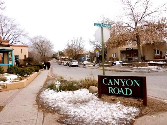 Canyon Road. Photo Credit: Barbara Singer