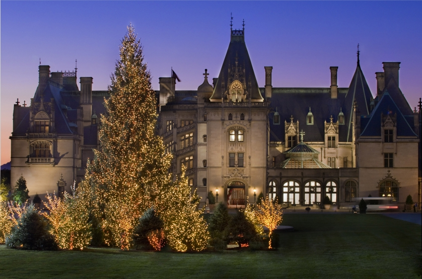 Biltmore Estates at Christmas