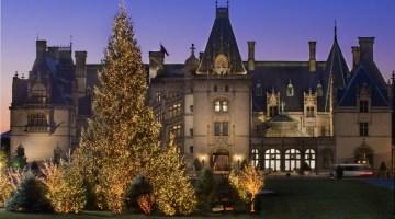 Biltmore Estates at Christmas. Photo Credit: The Biltmore Company