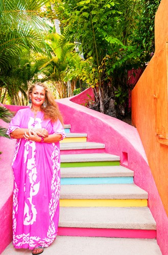 Las Alamandas gracious host and owner Isabel Goldsmith